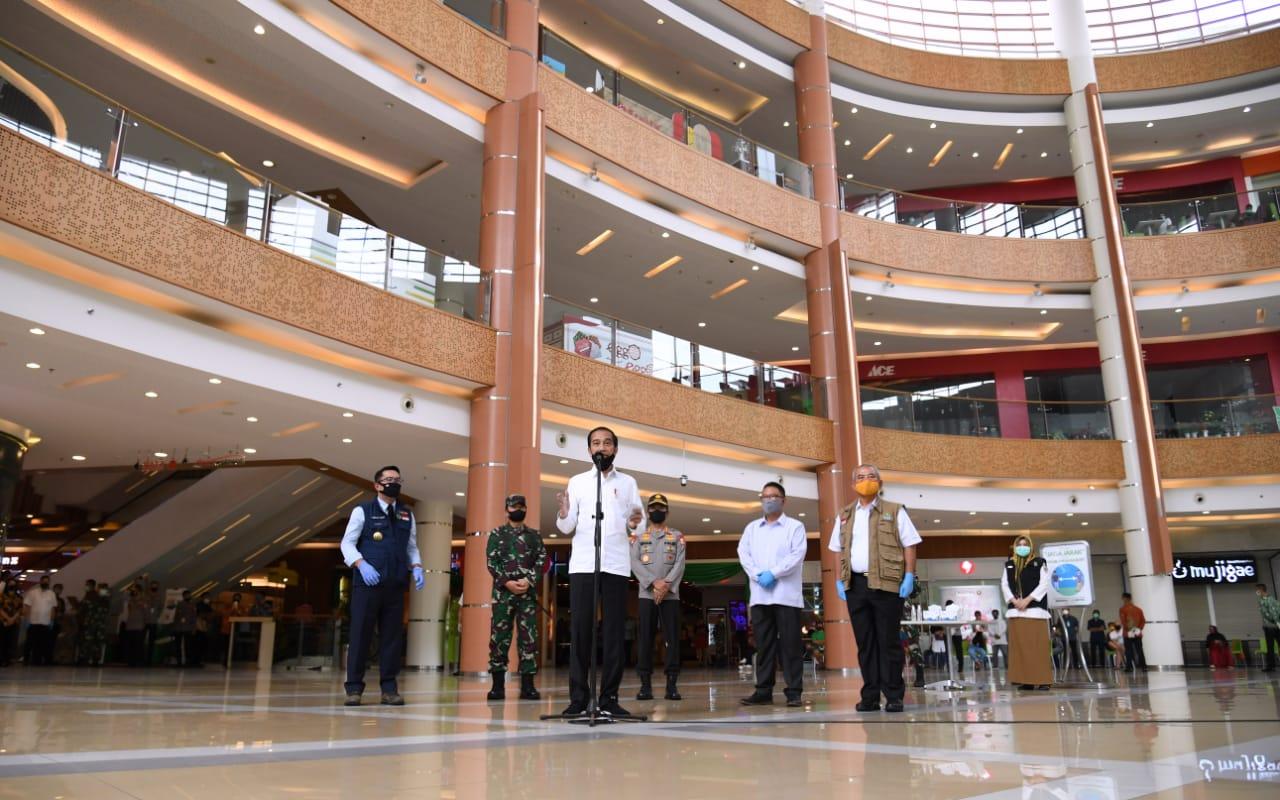 Presiden Tinjau Kesiapan Menuju Tatanan Normal Baru di Bekasi