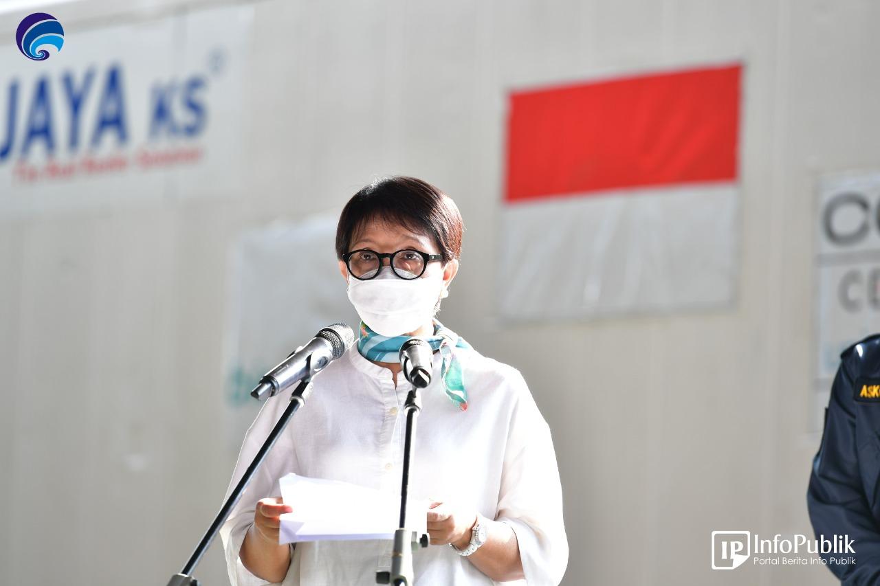 Indonesia Kedatangan 1.389.600 Dosis Vaksin COVID-19 AstraZeneca
