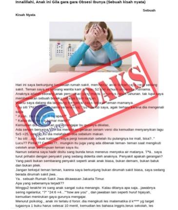Ikut Banyak Les Bukan Penyebab Gangguan Kejiwaan pada Anak