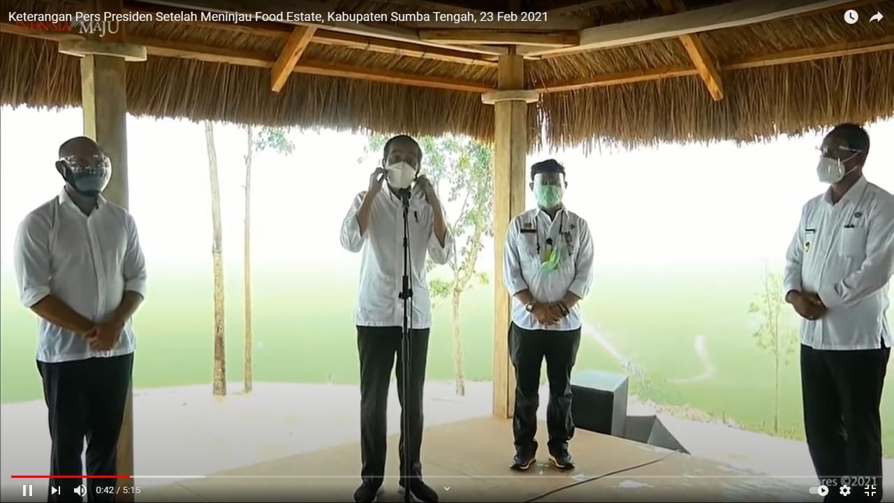 Food Estate Tingkatkan Taraf Hidup Penduduk di Sumba Tengah